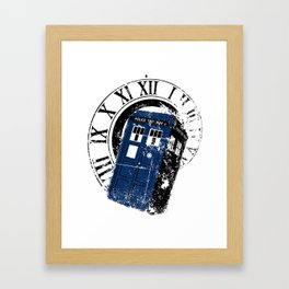 Doctor Who - TARDIS Framed Art Print