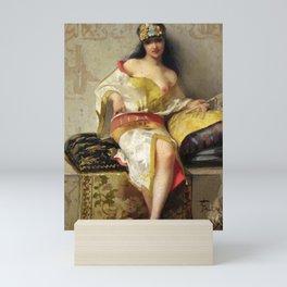 "Luis Ricardo Falero ""Spanish dancer"" Mini Art Print"