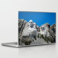 rushmore Laptop & iPad Skins featuring Mount Rushmore by DMSanchez
