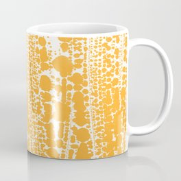 Orange creamsicle Splatter Splash Decor Coffee Mug
