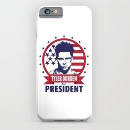 Tyler Durden For President iPhone Case