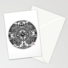 deer mandala Stationery Cards