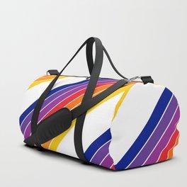 Rainbow Candy Stripe Duffle Bag