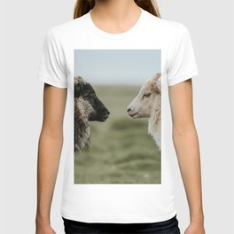 Sheeply in Love - Animal Photography from Iceland T-shirt