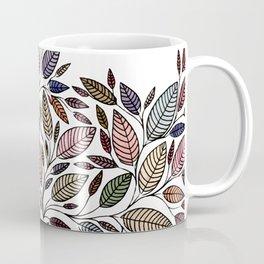 Floral Leaf Illustration *P07008 Coffee Mug