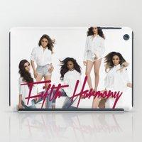 fifth harmony iPad Cases featuring Fifth Harmony laptop skin by stephanie