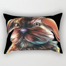 Magic Rabbit Rectangular Pillow