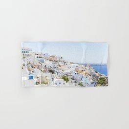 Fira, Santorini Greece Hand & Bath Towel