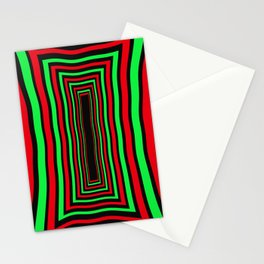 """Overwork """"Chilli Lime"""" Stationery Cards"""