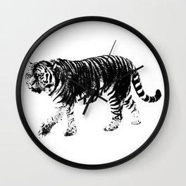 Tiger Prowl Wall Clock