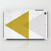 triangles iPad Cases featuring Triangles by Nan Lawson