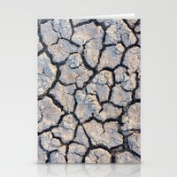 cracked Stationery Cards featuring Cracked by F. C. Brooks