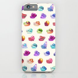 Jewel Snail - pastel iPhone Case