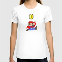 mario T-shirts featuring Mario by eARTh