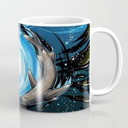 Shark Mandala Coffee Mug