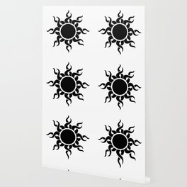 Tribal Sun Wallpaper