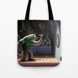 Sloth Darts Tote Bag