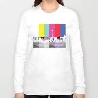 toronto Long Sleeve T-shirts featuring Toronto by Shazia Ahmad