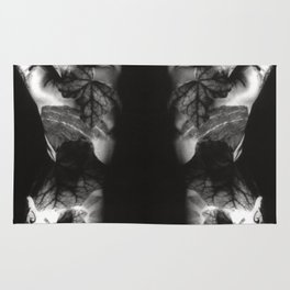 FEMALE NUDE - analog - duplex Rug