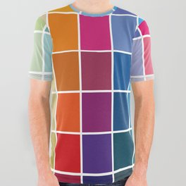 Colorful Soul - All colors together All Over Graphic Tee