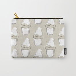 The Newsprint Gnome Carry-All Pouch