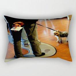 Off The Beaten Path Rectangular Pillow