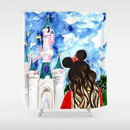 Take me to Disneyland Shower Curtain
