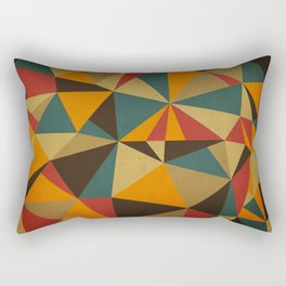 The Colorful Triangle Rectangular Pillow
