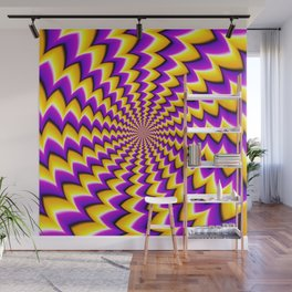 Optical Illusion Wall Mural
