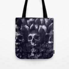 Skulls - Paris Catacombs, tinted version Tote Bag
