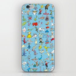 Dr. Seuss Characters iPhone Skin