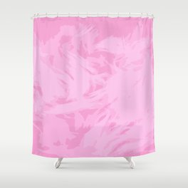PINK FURY Shower Curtain