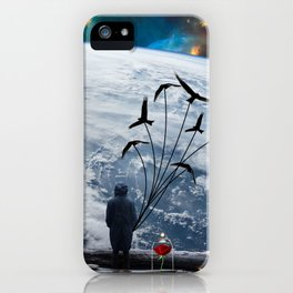 Modern little prince iPhone Case