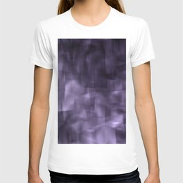 Purple abstract painting. T-shirt