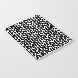 Hand Knit Zoom Notebook