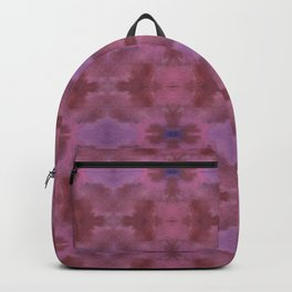Fall Abstract Purple Florals Backpack
