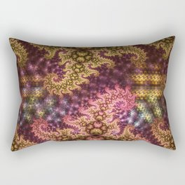 Dragon dreams, fractal pattern abstract Rectangular Pillow