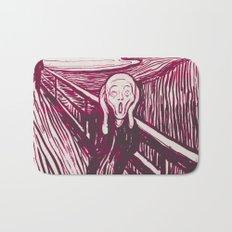 The Scream's Haze (pink) Bath Mat