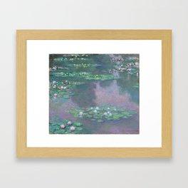 Water Lilies Monet 1905 Framed Art Print