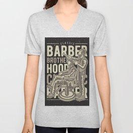 Barber Brotherhood Unisex V-Neck