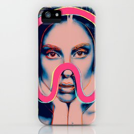 Reverse Warholian Expedition iPhone Case