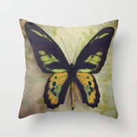 tapestry Throw Pillows featuring Tapestry by KunstFabrik_StaticMovement Manu Jobst