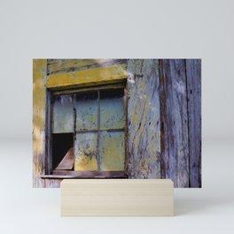Old Window Mini Art Print