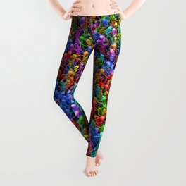 Dancing dead Leggings