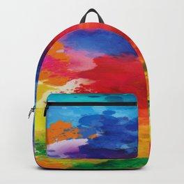 Watercolor Summer Backpack