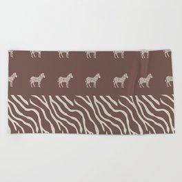 Animal Print Beach Towel