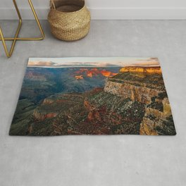 Twilight at the Grand Canyon Rug