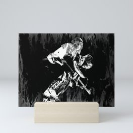 Ice Hockey Goalie Mini Art Print