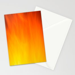 Mark Rothko Inspired Fire Painting Stationery Cards
