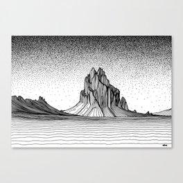 Shiprock Canvas Print